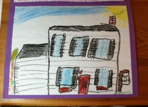 A 6 Year Old View of my House